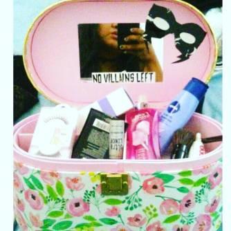 NVL makeup case by Jaz